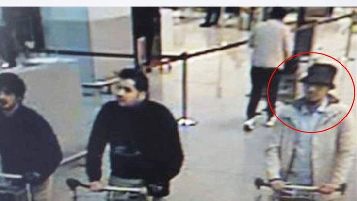 Suspects at airport
