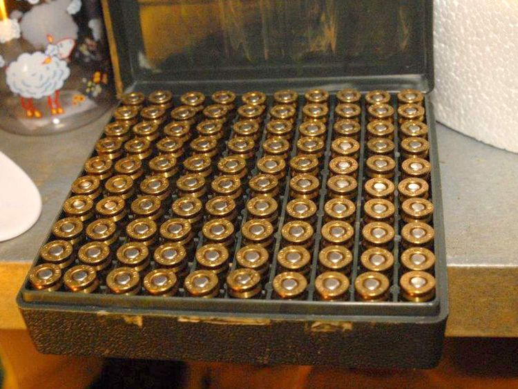 Ammunition found at heather Exley's house
