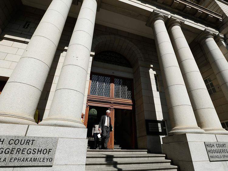 Shrien Dewani Murder Trial High Court in Cape Town, South Africa
