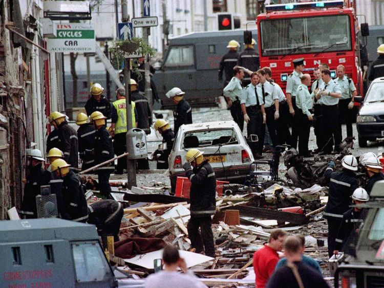 Seamus Daly has been charged with murdering 29 people in the Omagh bombing of 1998.
