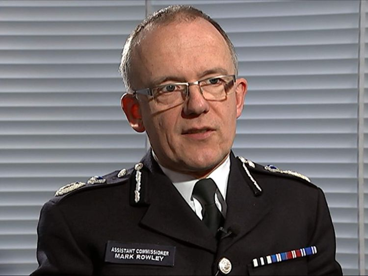 ASSOCIATION OF CHIEF POLICE OFFICERS MARK ROWLEY