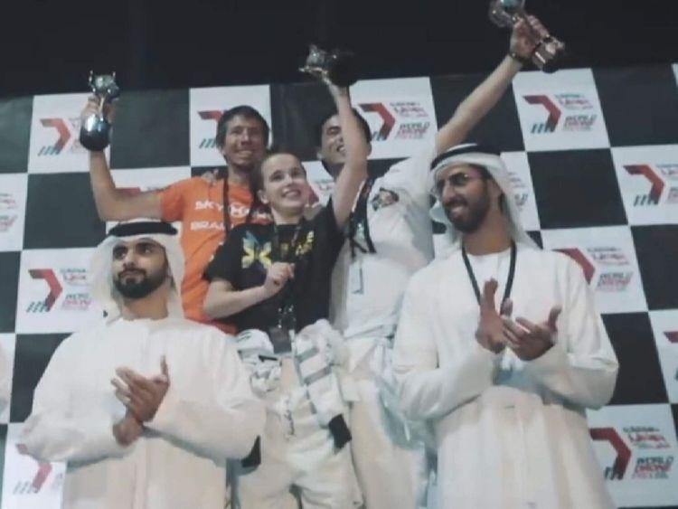 Luke Bannister wins World Drone Prix