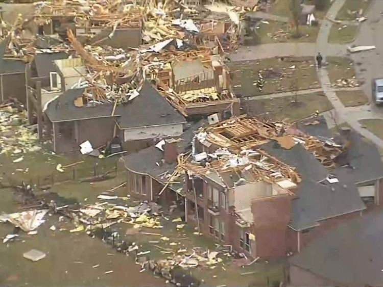 Demolition tear down wrong house in Rowlett, Texas