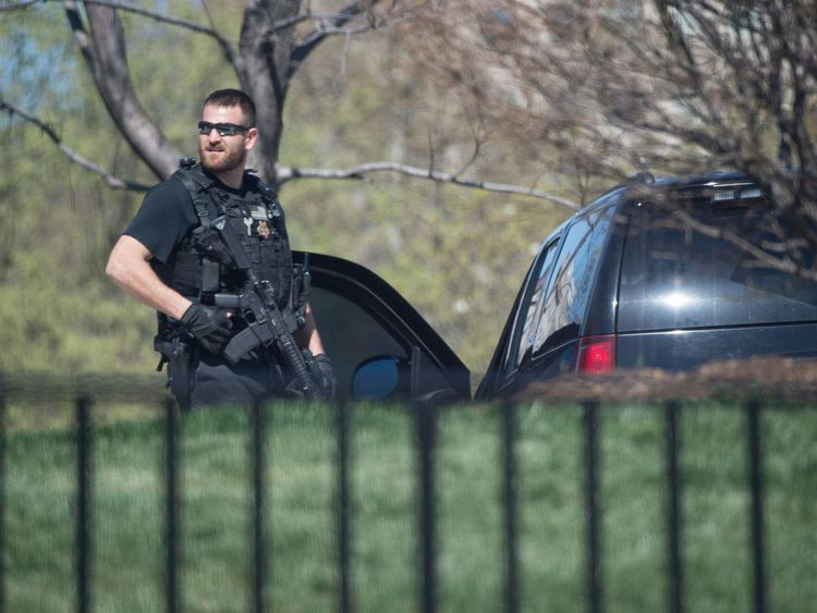 The US Capitol and the White House were put on lockdown March 28 after reports of shots fired at the Capitol Visitors Cente