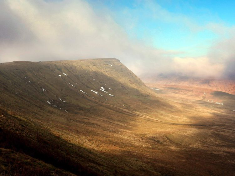 Brecon Beacons mountains
