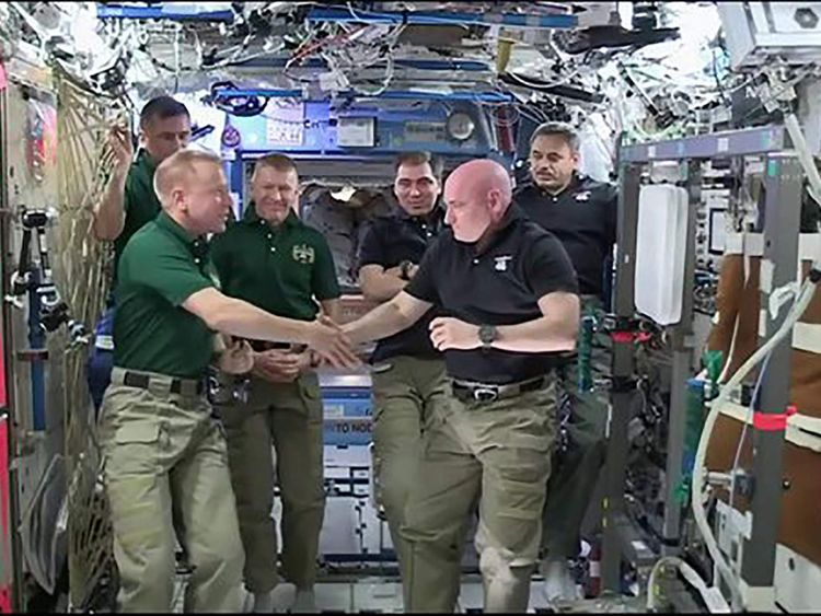 Astronaut Scott Kelly returning from ISS after year in space