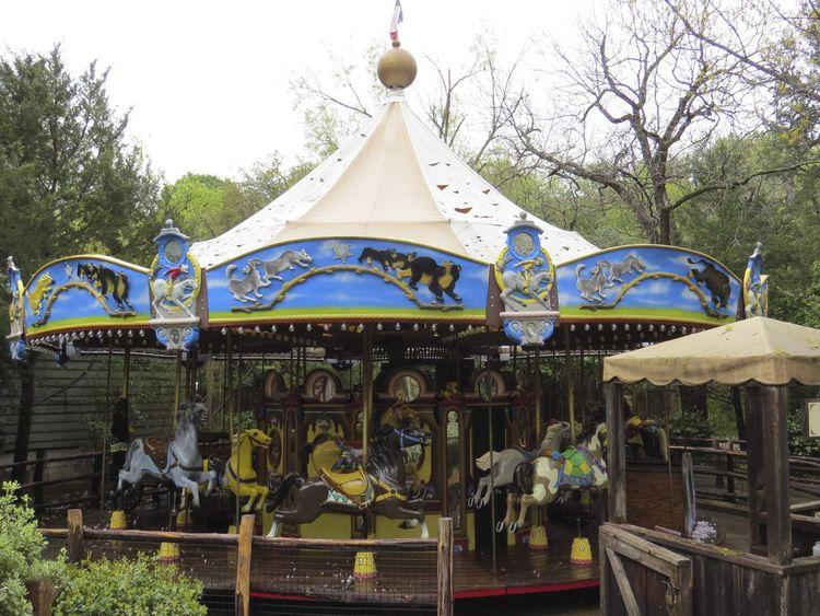 Eight exotic birds were killed by hail which also damaged the canopy of a carousel at the Fort Worth Zoo