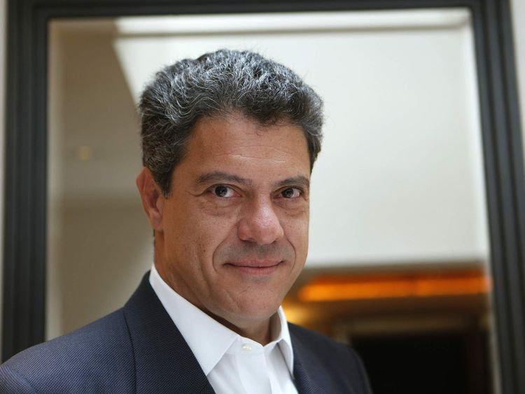 Former Vale CEO Roger Agnelli poses for a photograph during an interview with Reuters in London