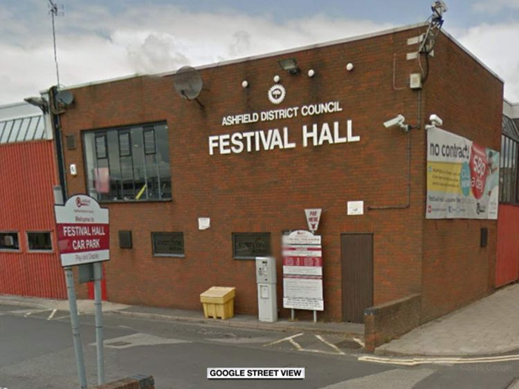 Ashfield Festival Hall