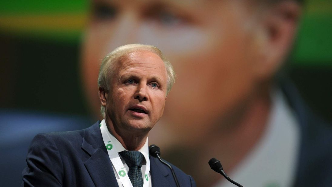 British energy giant BP CEO Bob Dudley