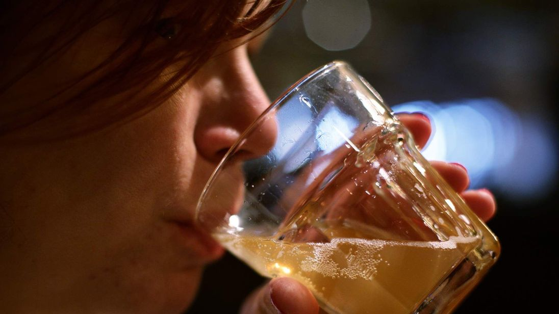 Middle-aged drinkers are drinking as much as young people, researchers say