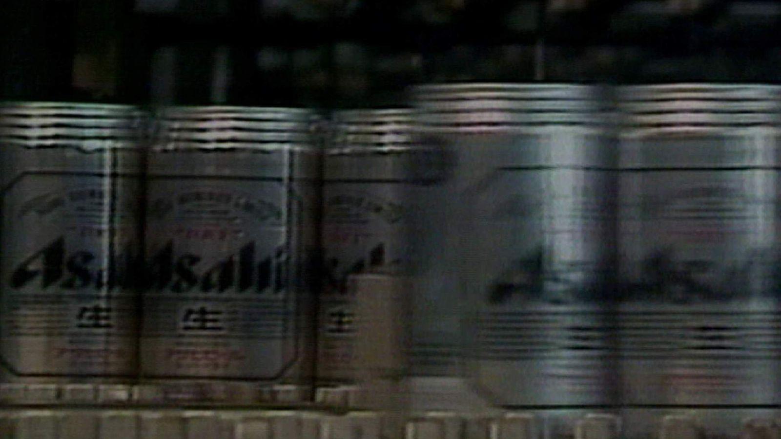 Asahi beers screengrab