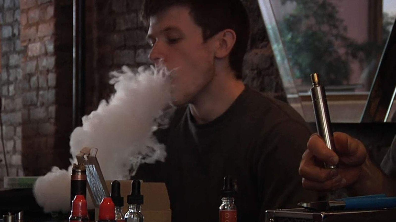 E-cigarette use has soared in recent years