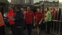 Royal Mail Staff Mount Pleasant