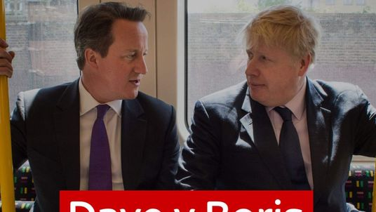 David Cameron and Boris Johsnon