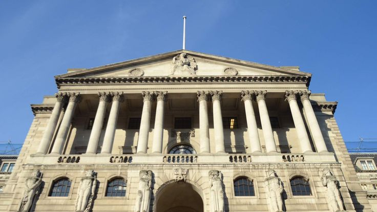 The Bank of England in central London