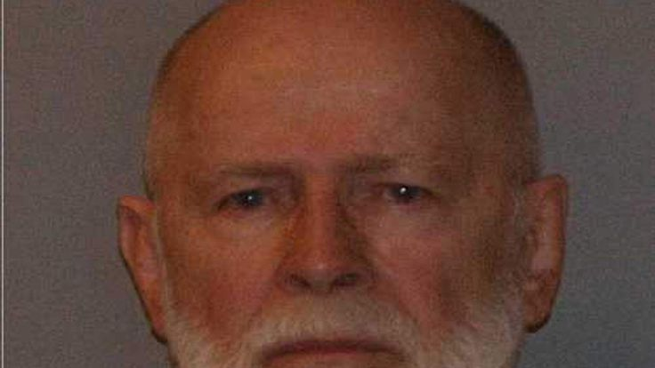 Police booking photo of Whitey Bulger