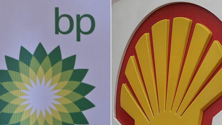Shell And BP Logos New