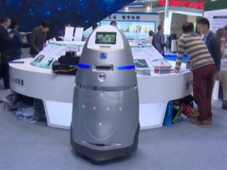 china security robot
