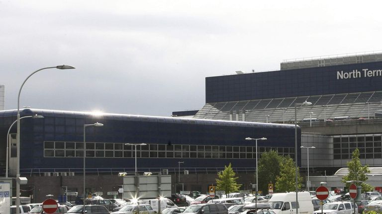 View of the North Terminal at BAA owned Gatwick Airport near London