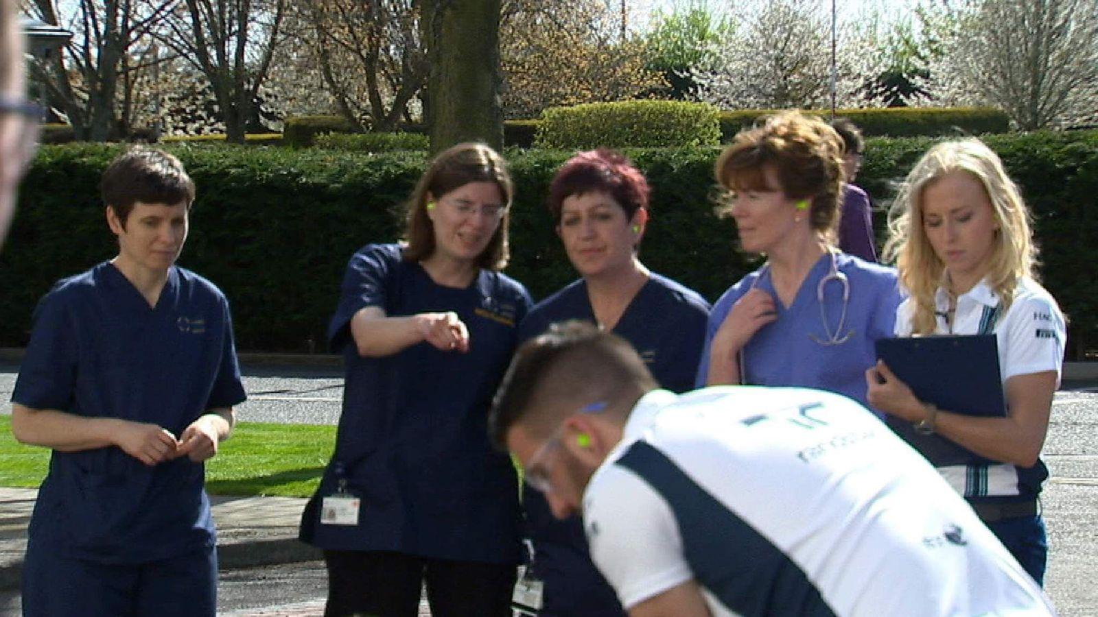 F1 Hospital staff