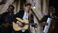 Mumford & Sons perform at the 2013 Grammy Awards