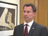 Jeremy Hunt Discusses New Talks Agreement