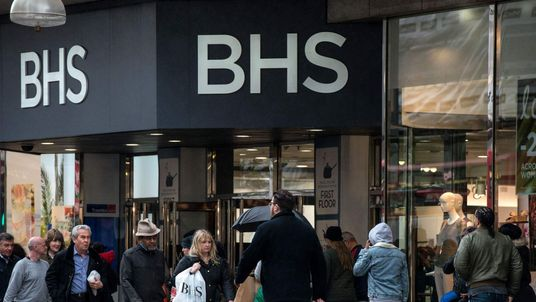 BHS on Oxford Street, London