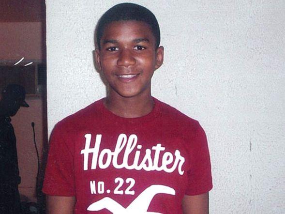 Trayvon martin dead body face down