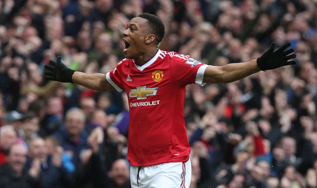 Martial and Schneiderlin possibles for match