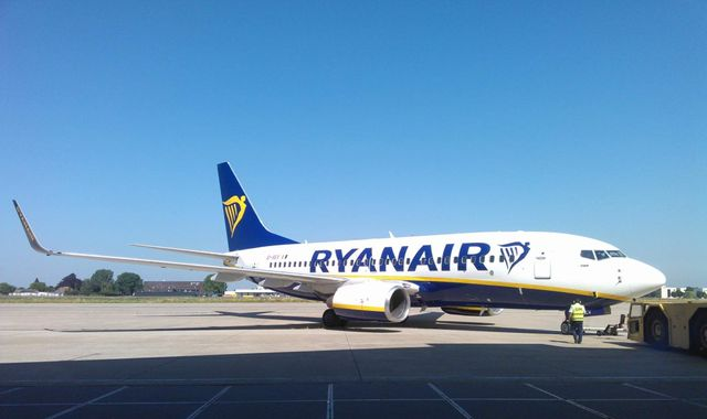 Ryanair blames collapse in pound since EU vote for profit warning