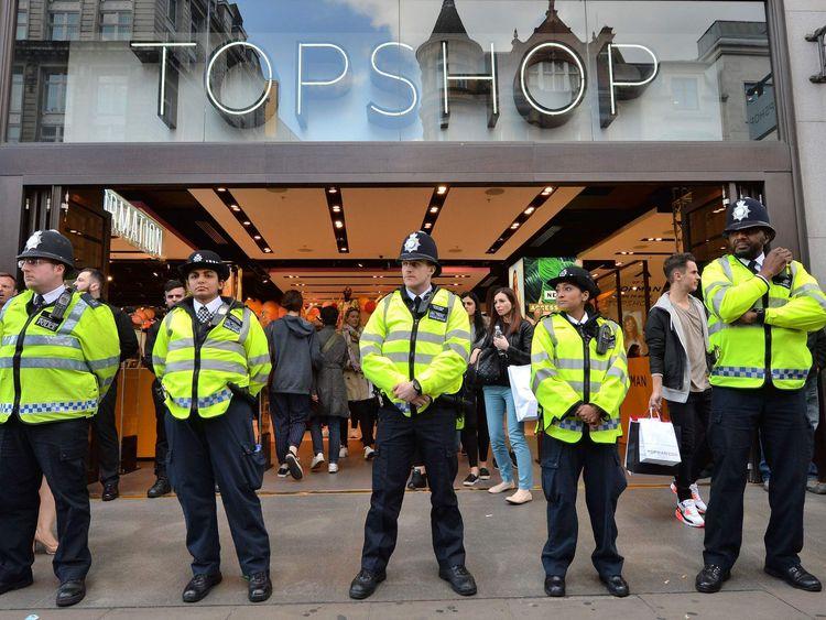 Topshop protest