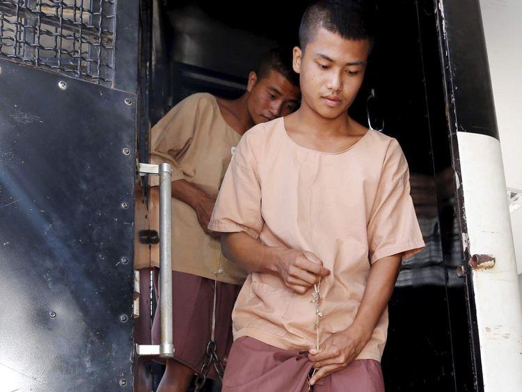 Men accused of murdering British tourists