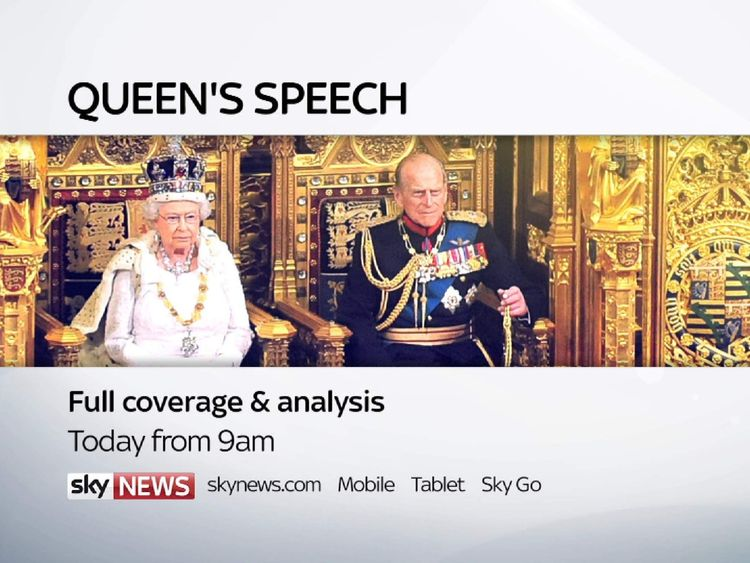 Queen's Speech promo