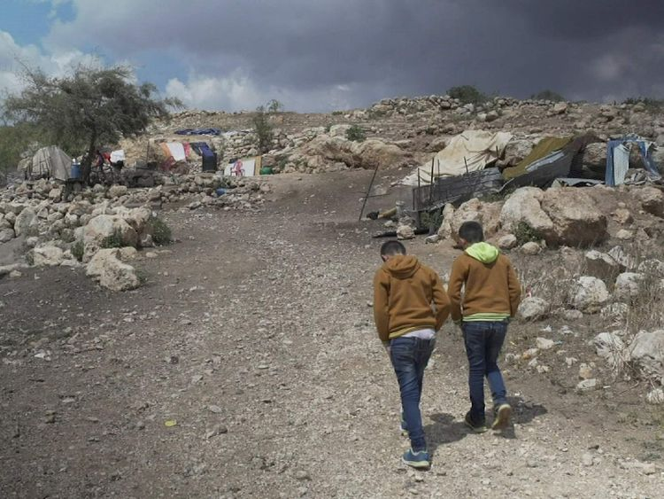 The number of demolitions in the occupied West Bank is on the rise