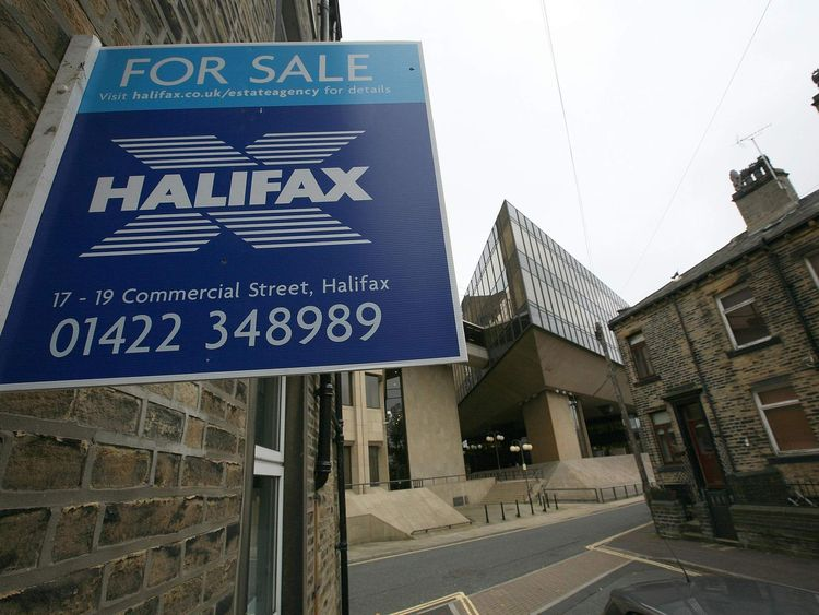 Halifax bank house for sale