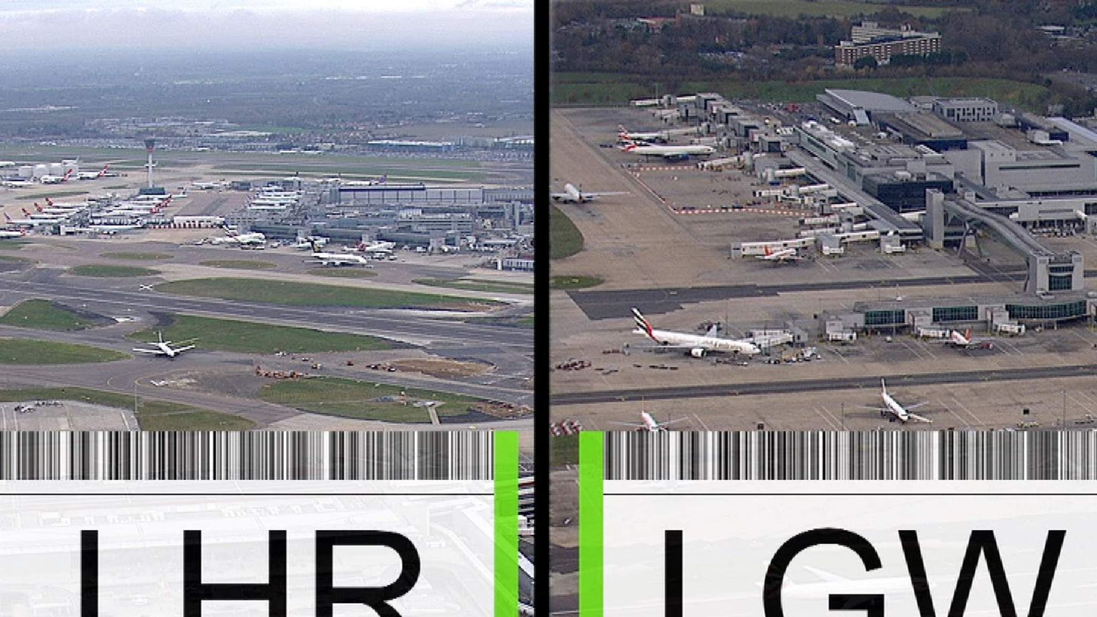 Gatwick and Heathrow are competing to see which will be allowed to expand