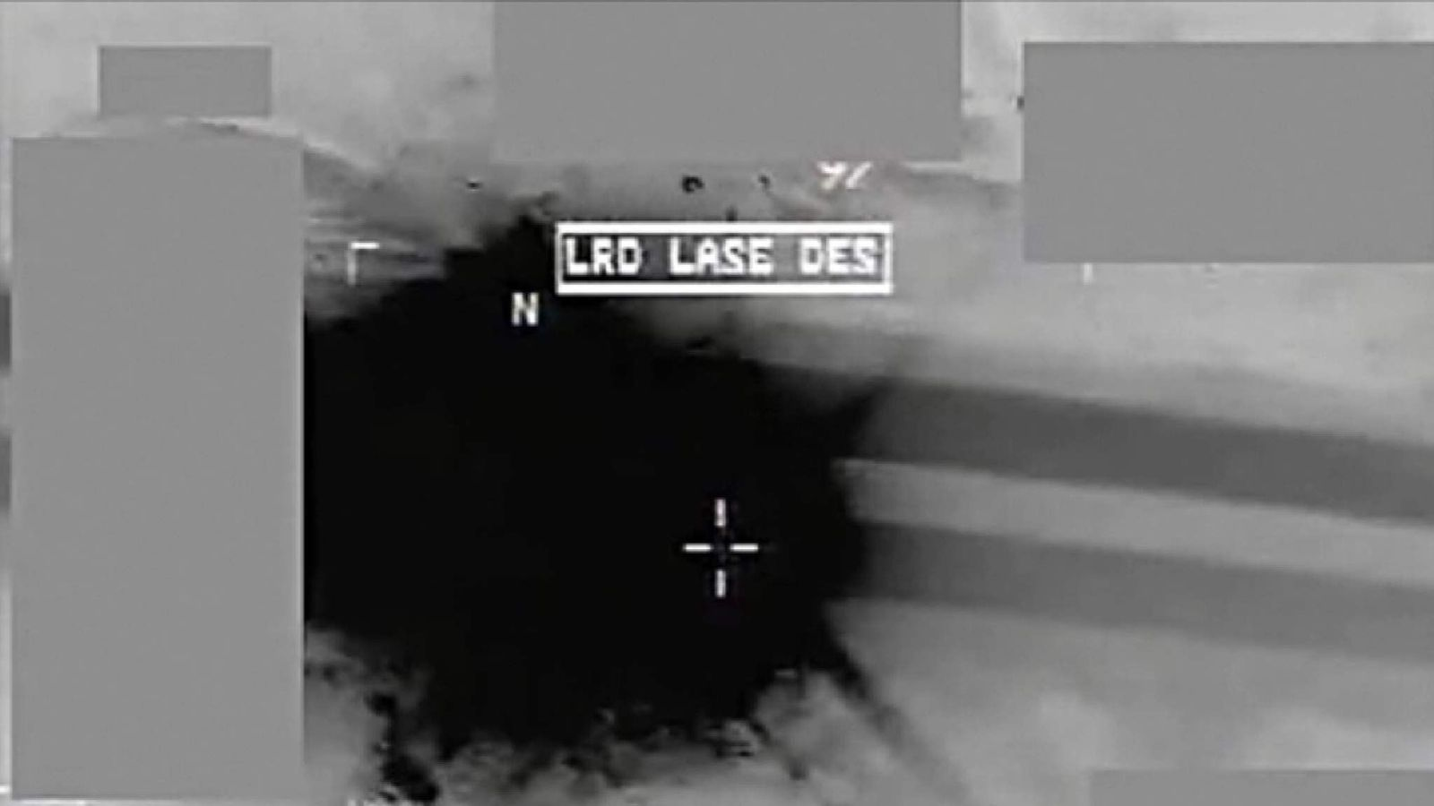 Ministry of Defence video showing an RAF missile attack on a terrorist supply truck