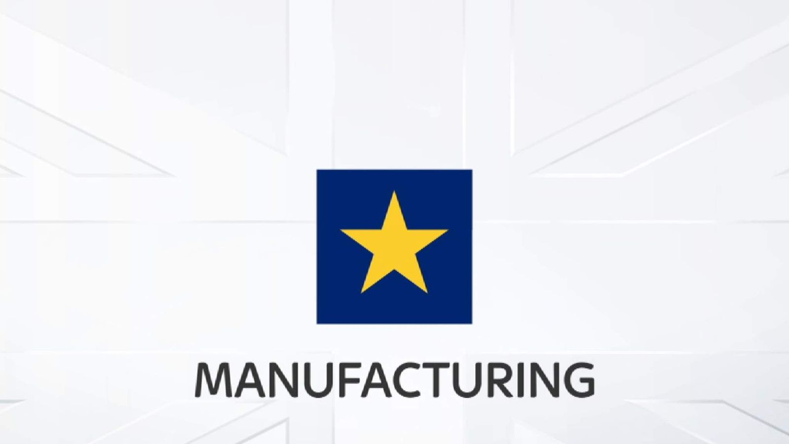 The UK's manufacturing industry