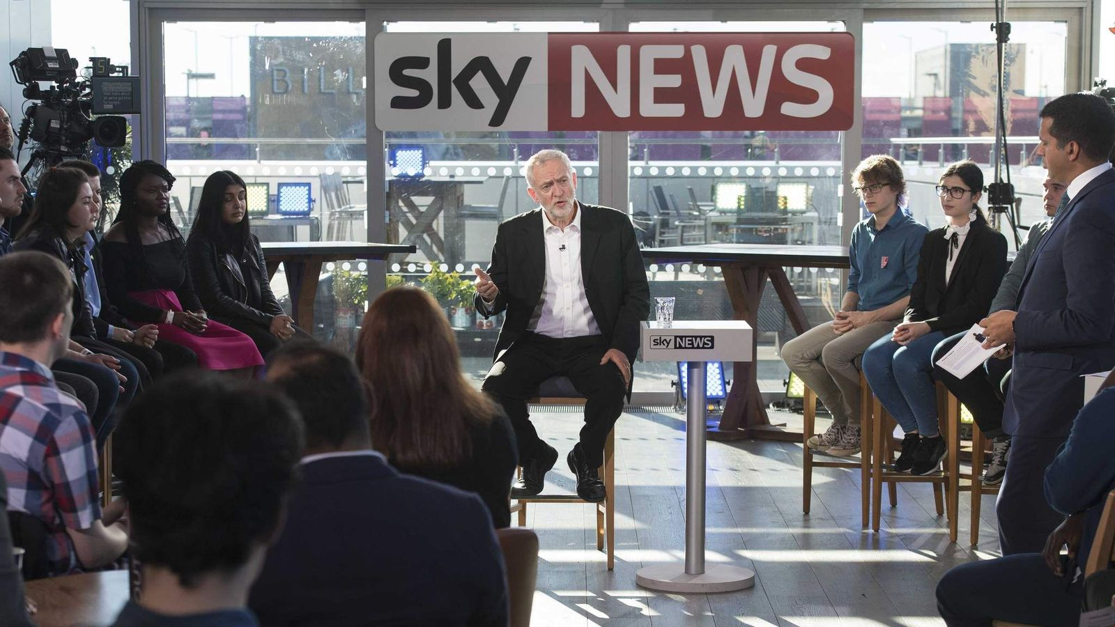 Jeremy Corbyn faces questions on Brexit discussion
