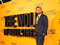 Leonardo DiCaprio at Wolf of Wall Street premiere in London