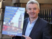 Ryanair Michael O'Leary EU Campaign