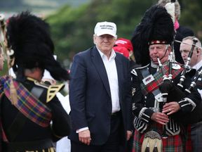 Donald Trump visit to Scotland