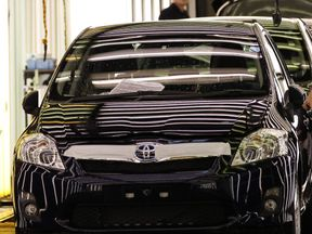 Toyota factory in Derby