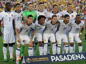 Soccer: 2016 Copa America Centenario-Colombia at Paraguay