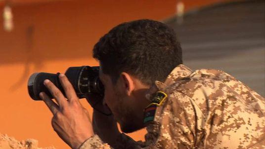 Screen grab from Alex Rossi Libya VT Islamic State
