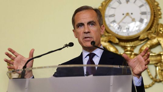 Bank of England revises up growth forecasts