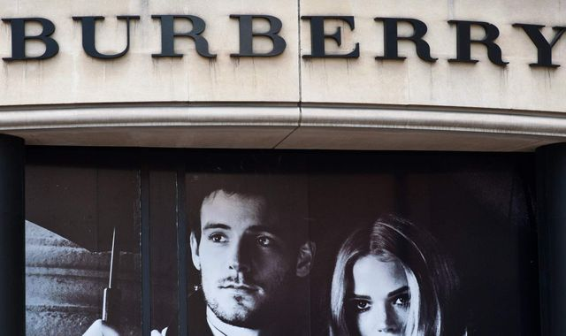 Burberry shares spike on talk of stateside merger bid