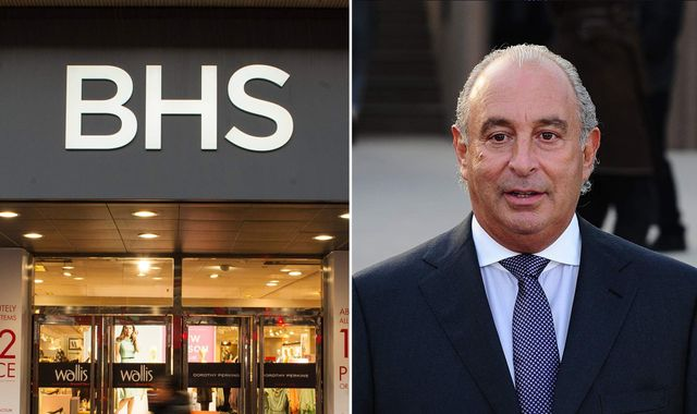 Green Wants Probe Dropped If He Plugs BHS Pension Gap