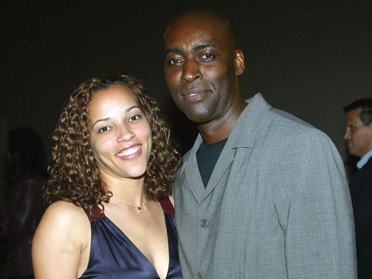 Actor Michael Jace and wife April